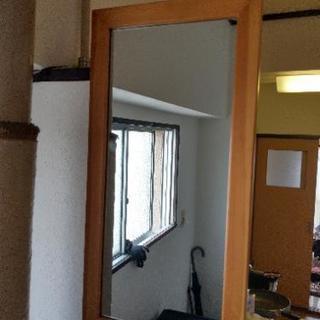 鏡 サイズは約縦60横30