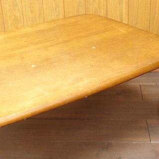 木製♪  一人暮らし  天然木 折りたたみ コーヒーテーブル セン...