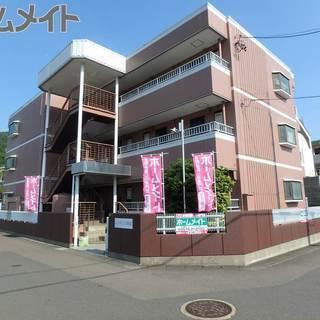 初月賃料がワンコイン(500円)!!岐阜市日野南 1Kマンション...