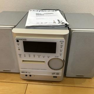 2007年製 MD・USBCDミニコンポ 受付終了