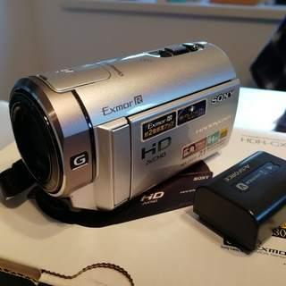 [美品]SONY HDR-CX370V フルハイビジョン・デジタル...