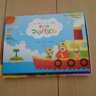 値下げ!★知育玩具★ベネッセ☆かずのつりパズル