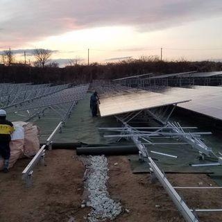 急募 太陽光パネル設置の軽作業員