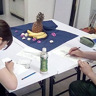 4月8日『本気のお絵かき教室』~武蔵新城