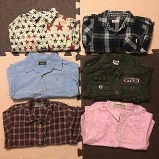 長袖シャツ6枚セット♡90㎝