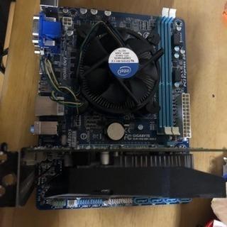 マザーボード +αのみ 第3世代 core i5 gtx750ti