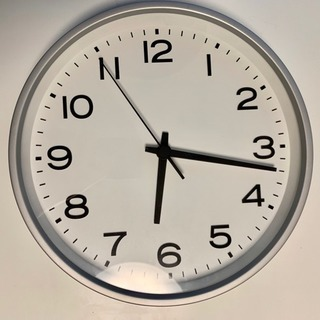 無印良品 時計 シルバー