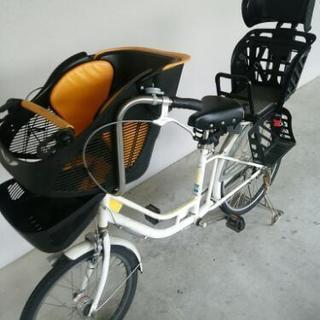 値下げしました❗5000円引き❗ 子供乗せ自転車 3人乗り 自転車