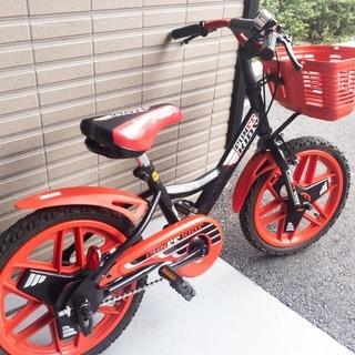 自転車の練習に子供用自転車16型(16インチ)!の画像