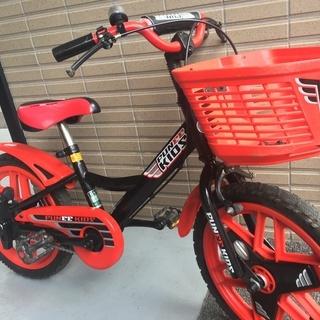 自転車の練習に子供用自転車16型(16インチ)! - 自転車
