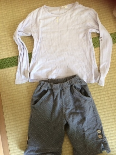 147c300700b91b 子供服 シャツ130 ズボン140 (じゃぱん) 南流山のキッズ用品《子供服》の ...
