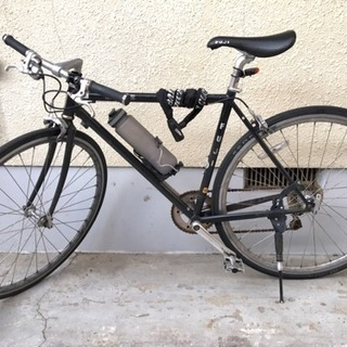 本体元値56360円 FUJI クロスバイク 自転車 付属品数点あり