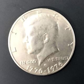 アメリカ/建国200年記念/ハーフダラー(50セント)銀貨/ミン...
