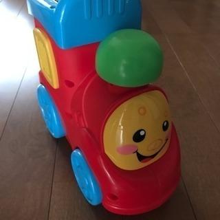 おしゃべり汽車のおもちゃ fisher price ベビー キッズ