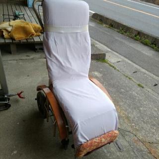 中古 タヒラ リクライニング 車椅子 介護 ベット