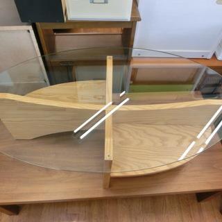 ガラステーブル NOCE ナチュラル BF6900 参考価格158...