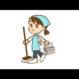 オフィス兼住居のビル共用部内の日常清掃!
