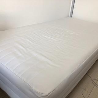 【無印良品】脚付き!無印のシングルベッド売ります!