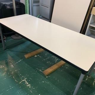 ミーティングテーブル 食堂テーブル 幅1800 中古