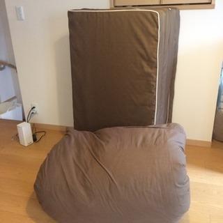 シングル敷きパッド&掛け布団セット