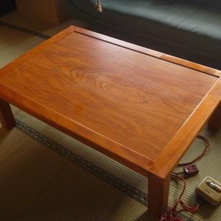 座卓、家具調こたつテーブル(ひとり暮らし、2~4人家族用)