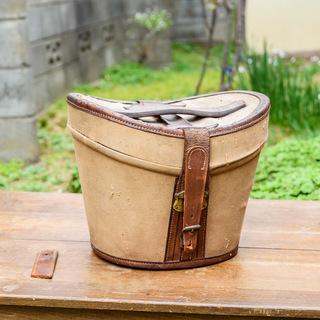 アンティーク鞄1 ハットケース/帽子入れ/トランク/ダレスバッグ/...