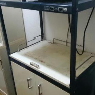 オーブン置く棚