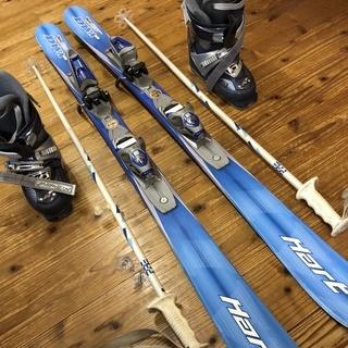 スキー一式<女性用 スキー (Hart) スキー靴 (Nordi...