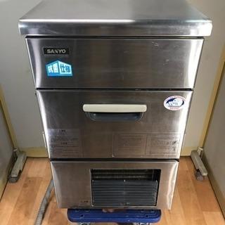 ジャンク品 SANYO/サンヨー アンダーカウンター 製氷機 SI...