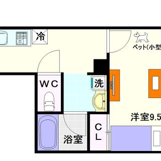 【MIYO大国】1号タイプ!1Kタイプ!デザイナーズ風の物件☆