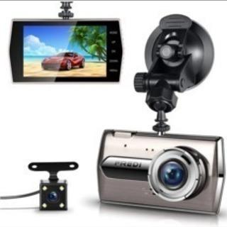 超高画質前後カメラドライブレコーダー