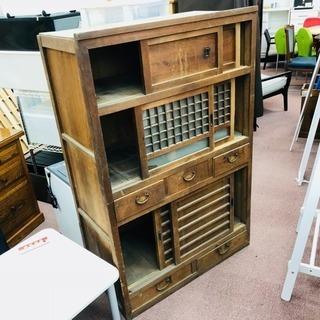 昭和レトロ 水屋 アンティーク 食器棚