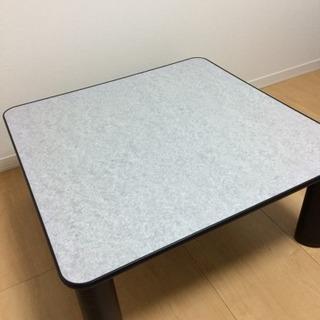 【取引中】美品 山善 こたつテーブル リバーシブル