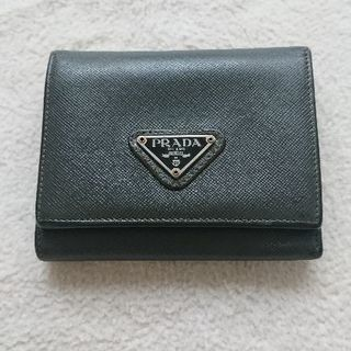 PRADA 財布(深緑)