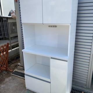 食器棚 (大)ホワイト