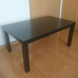 テーブル コンパクト ブラウン カインズ