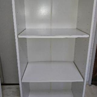 3段BOXホワイト