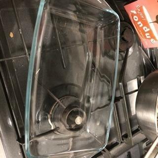 オーブン用ガラス容器 内寸約23.5×14.5cm