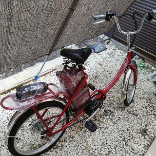 20インチモペット電動自転車 未使用車両