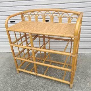 藤家具の一部 DIYなどに 引っ越しにつき、3月末処分