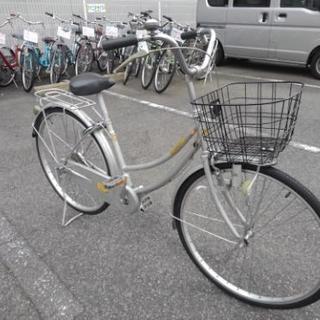 中古自転車416防犯登録600円無料)  26インチ ギヤなし ダ...