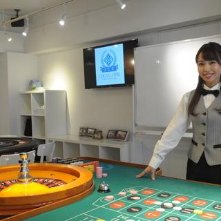【日本カジノ学院 渋谷本校】4月オープンスクールのお知らせ