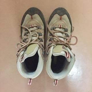 登山 トレッキングシューズ 女性 23.5cm ゴアテックス