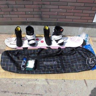 Swivel(スウィベル) レディース スノーボードセット 板14...