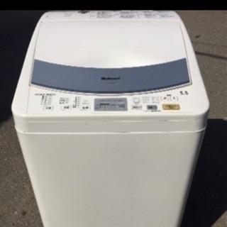 【室内干し最適】熱乾燥付き National 5.5kg 洗濯機