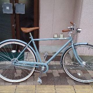 MOLLIS 27吋 クラシックシティバイク 変速なし/LEDオート