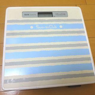 TANITA タニタ 体重計 System 116 0.5kg単位