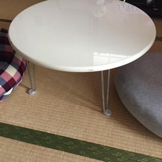 折りたたみ脚丸テーブル、ちゃぶ台