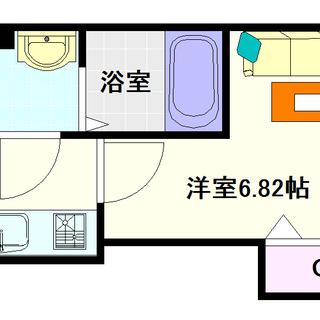 【Luxe難波西Ⅲ】5号タイプ!1Kタイプ!綺麗なのってええやん!