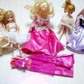 りかちゃん人形、小物など